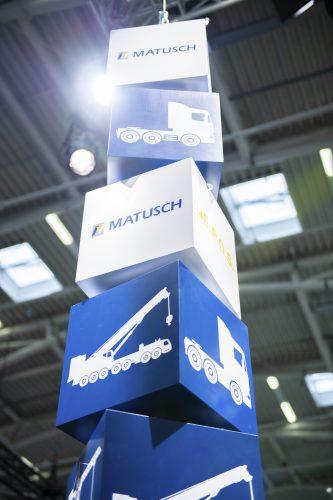 Messestand der Matusch GmbH